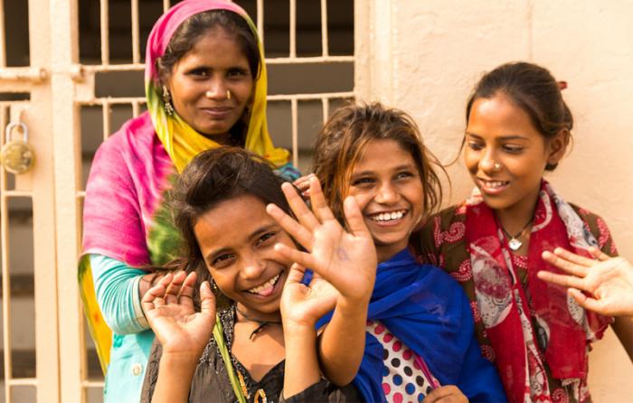 女性と子どもたちに希望の光を
